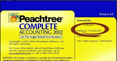 peachtree accounting software download free